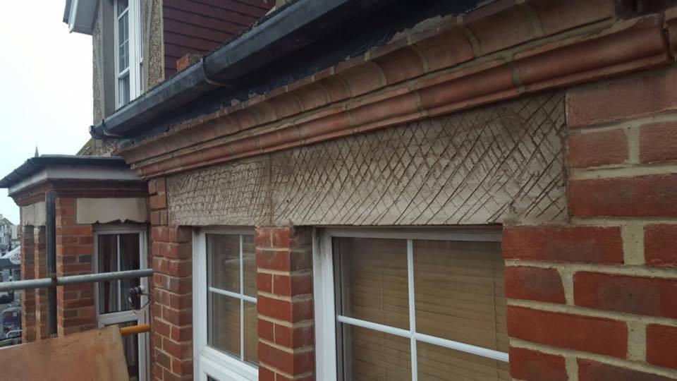 Frost Damaged Brick Work