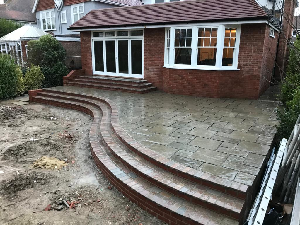 Patio Project.